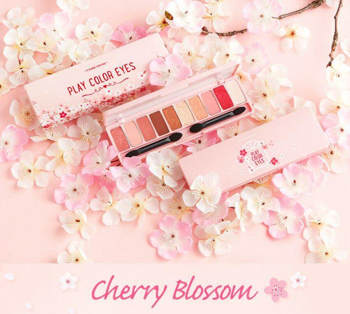 Resenha Paleta [ETUDE HOUSE] Play Color Eyes –Cherry.